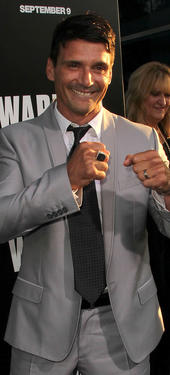 Frank Grillo at the California premiere of &quot;Warrior.&quot;